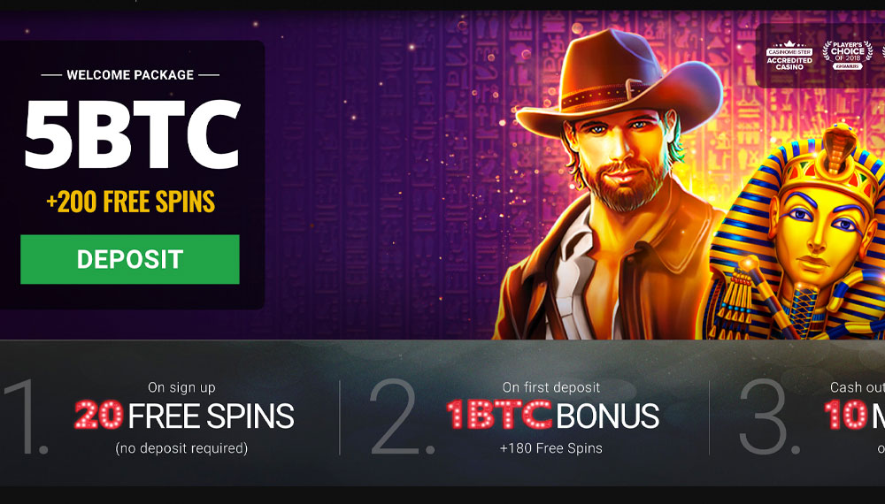 Bitcoin casino offers